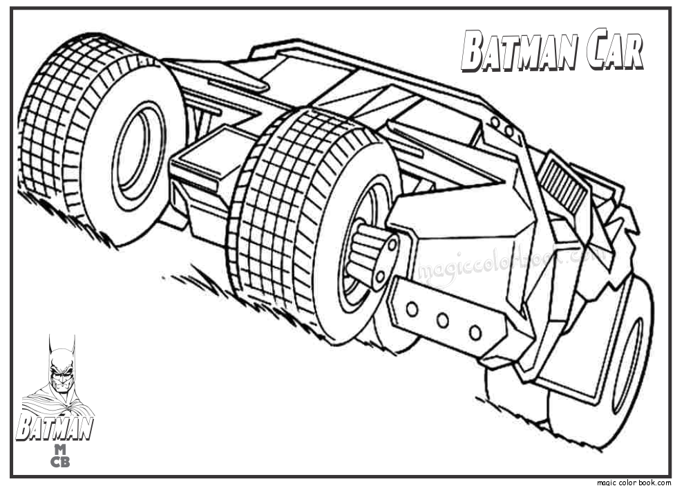 Free Printable Lego Batman Coloring