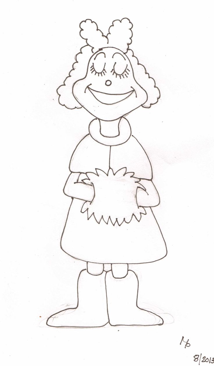 grinch christmas coloring pages - whoville characters coloring pages coloring home
