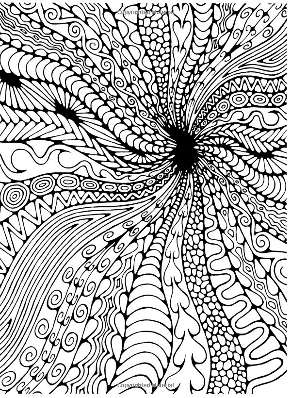advanced coloring book page