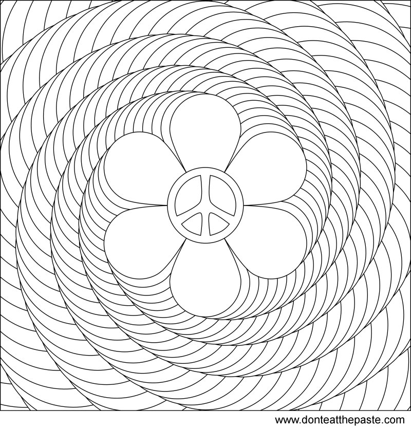 Free 3d Coloring Pages - AZ Coloring Pages