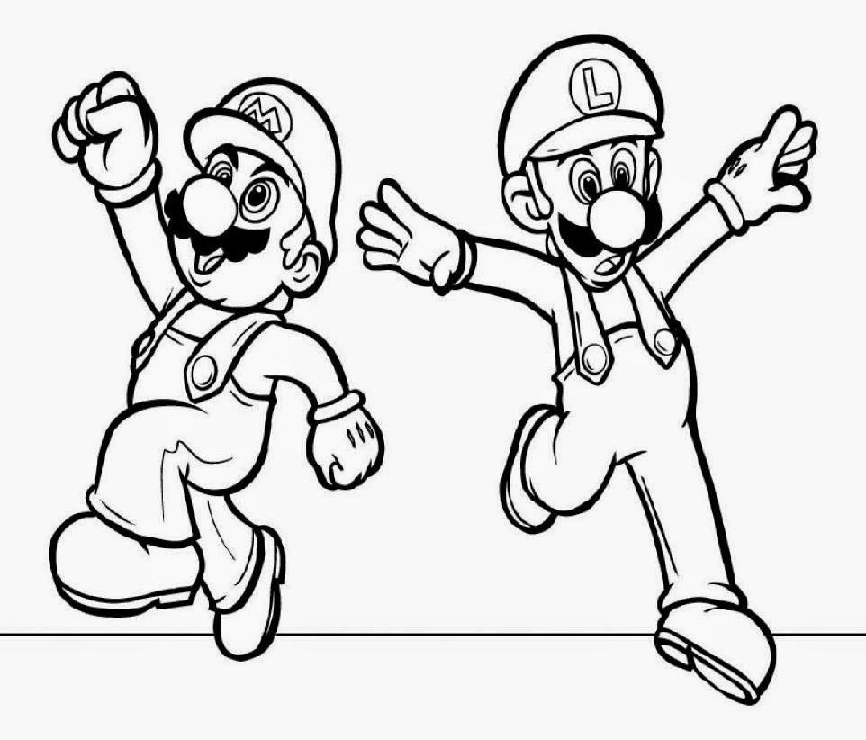 mario bad guy coloring pages - photo#13