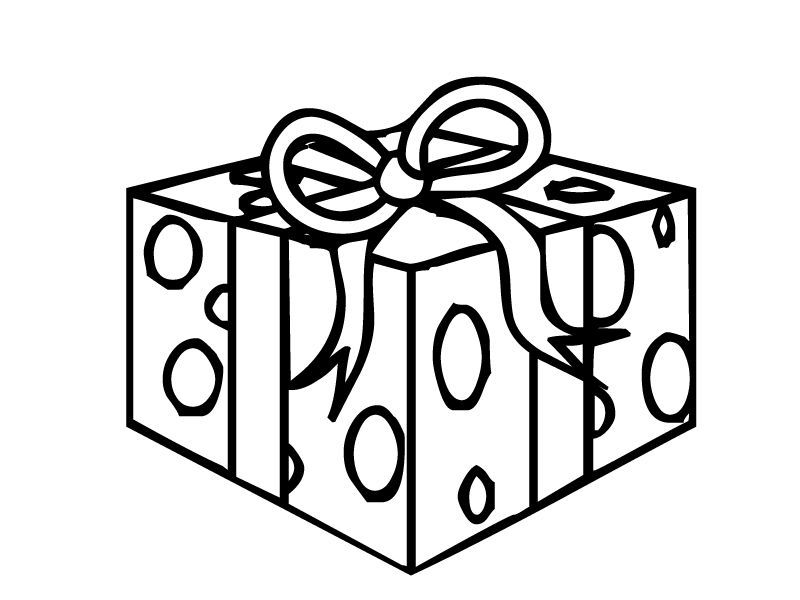 Present Coloring Pages Coloring Home