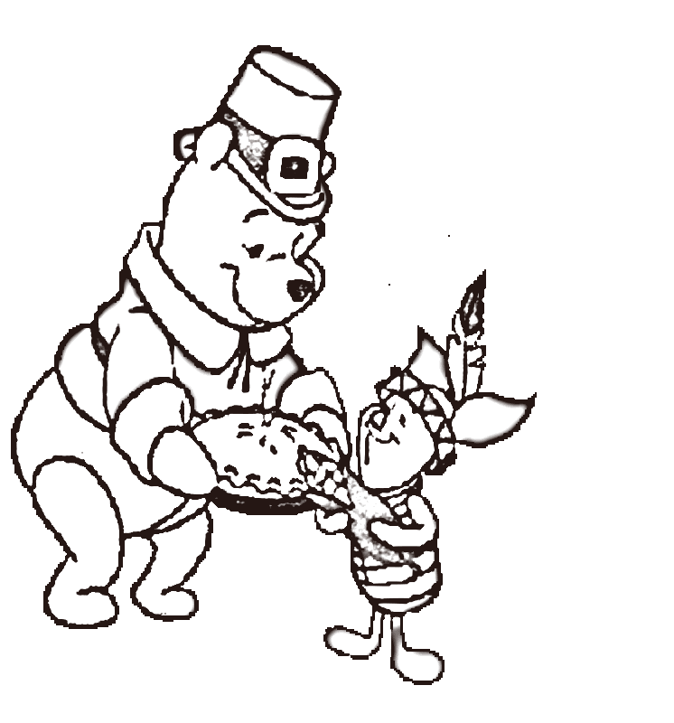 Free Thanksgiving Coloring Pages Kids Coloring Home