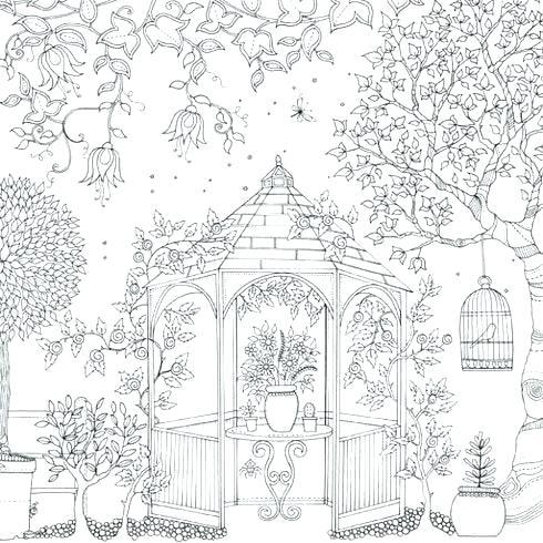 - Secret Garden Coloring Pages - Coloring Home
