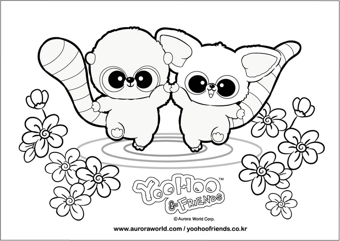 Yoohoo And Friends Coloring Pages - Coloring Style Pages