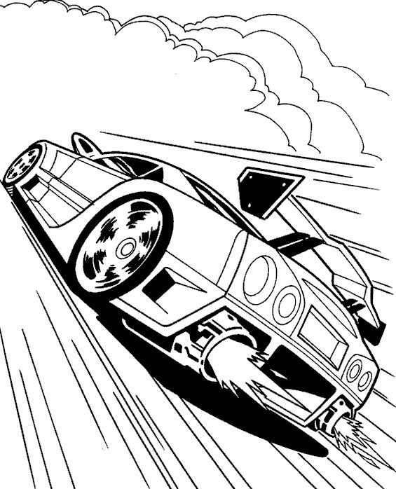 Fast Cars Coloring Pages Great Top Free Printable Colorful Cars