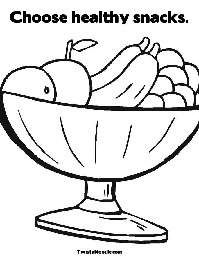 Free Nutrition Coloring Pages Coloring Home