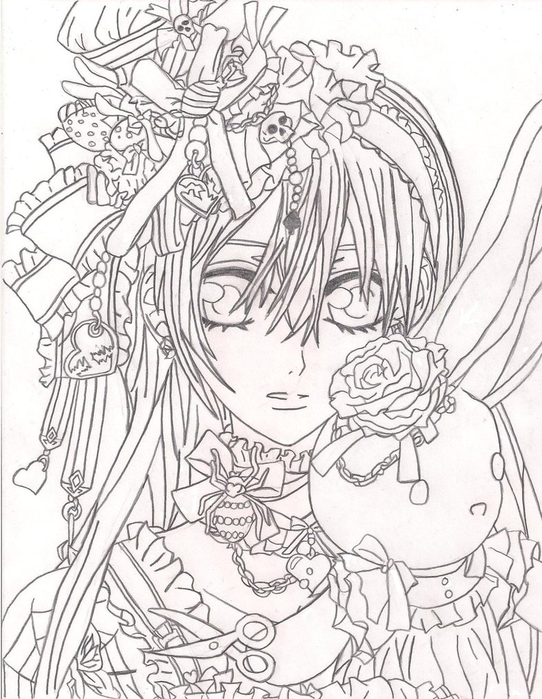 Vampire Knight Coloring Pages