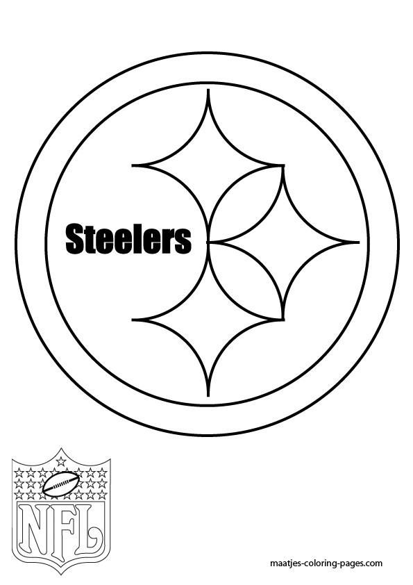 steelers free coloring pages - photo#5