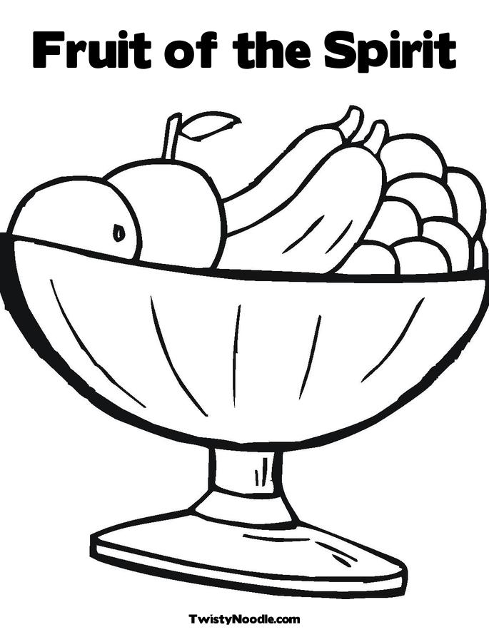 fruits of spirit coloring pages - photo#8