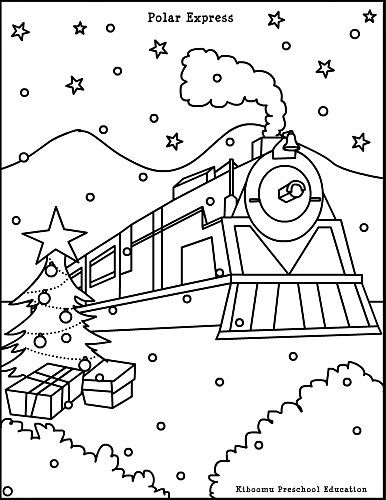 Polar Express Coloring Pages Free - Coloring Home