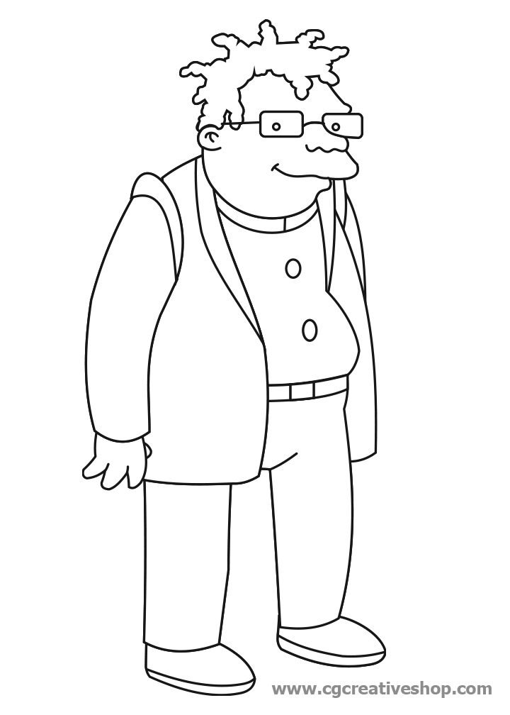 Futurama Coloring Pages Az Coloring Pages Futurama Coloring Pages