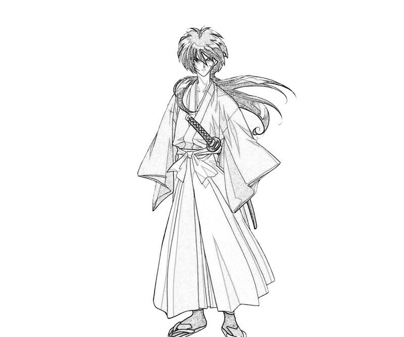 kenshin coloring pages | Rurouni Kenshin Coloring Pages - Coloring Home