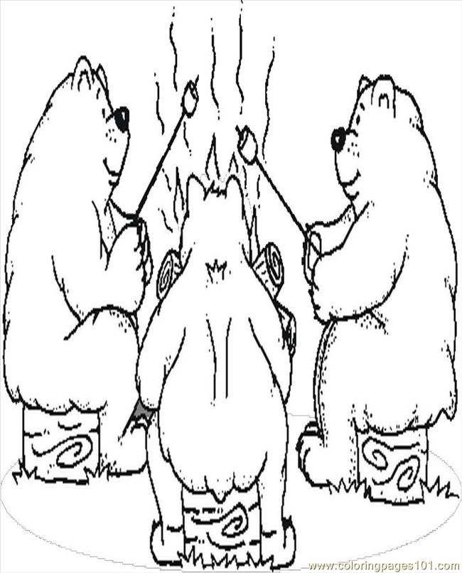 Camping Coloring Pages Pdf - Coloring Pages For All Ages