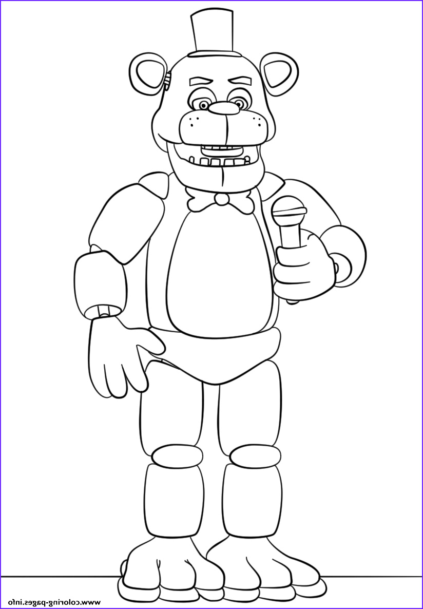 Coloring Pages : Fnaf Coloring Pages Beautiful Photography ...