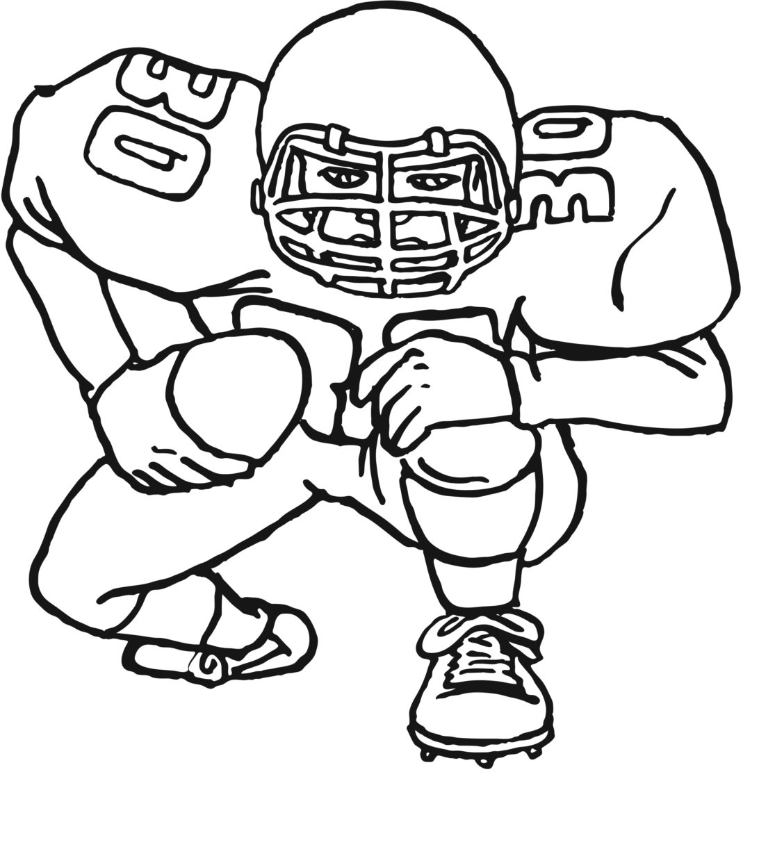 Super Bowl 2020 Coloring Pages Coloring Home