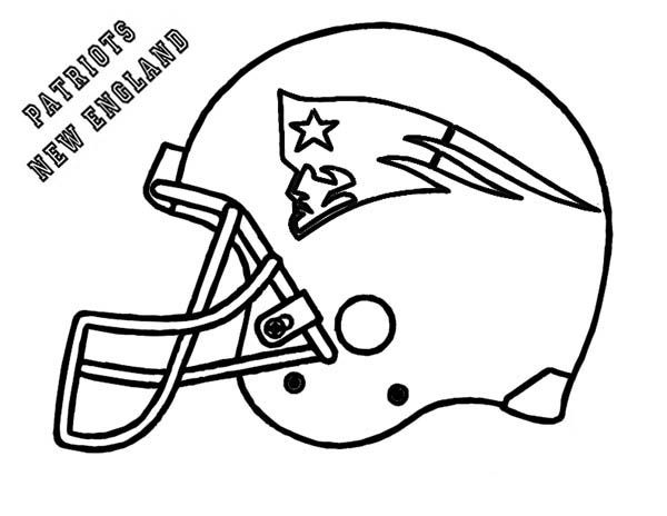 football coloring pages patriot - photo#4