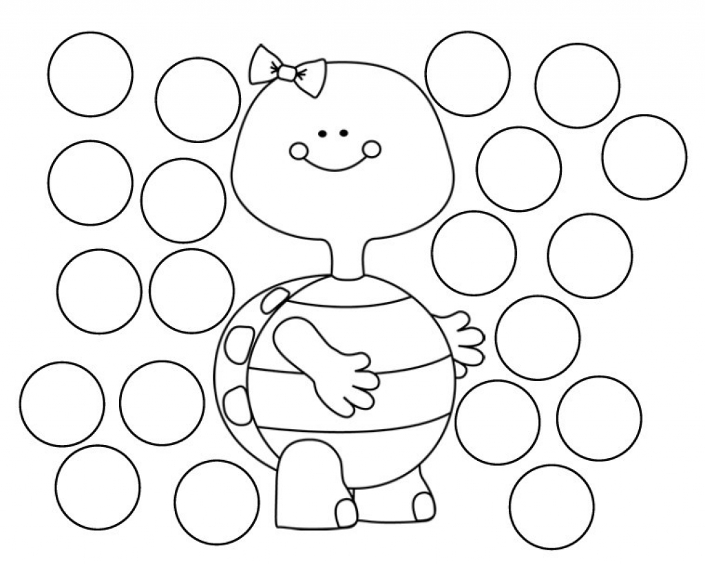 Dot Coloring Pages - Coloring