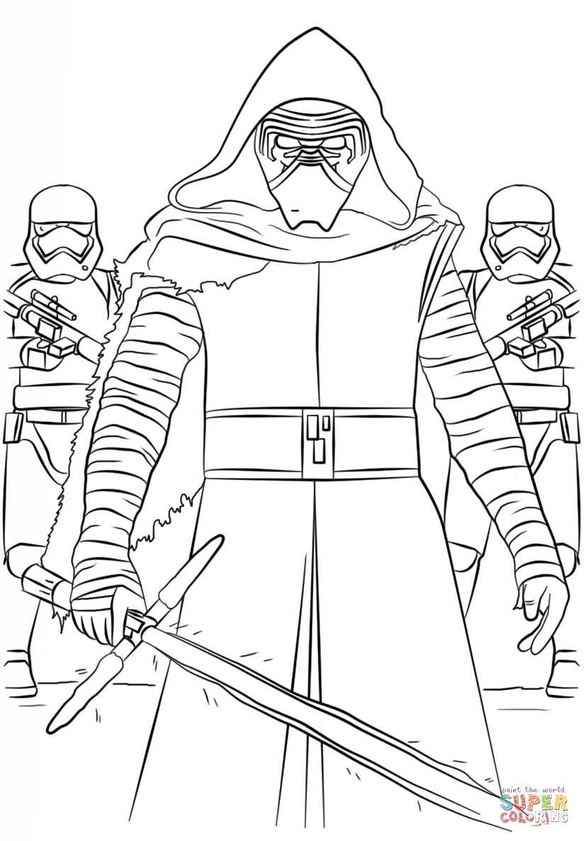 Stormtrooper Coloring Pages Printable - Coloring Home