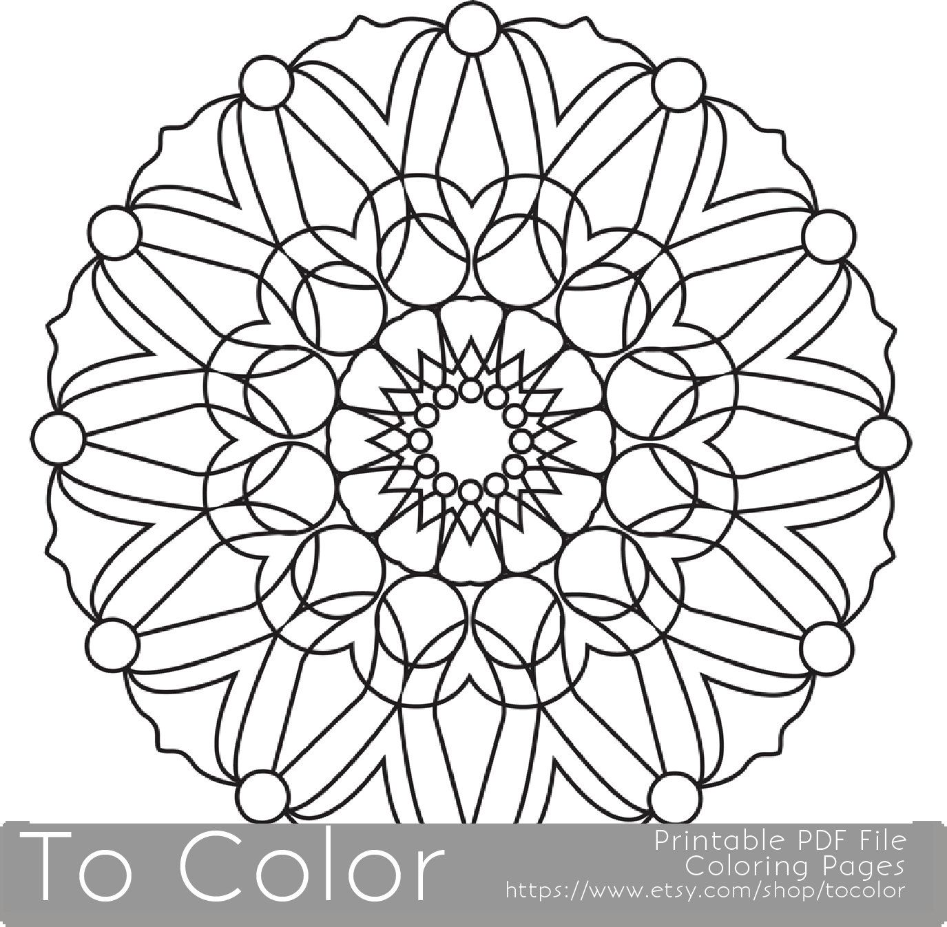 Grown Up Coloring Pages Pdf : Popular items for grown up coloring on etsy home