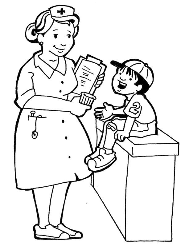 Community Helpers Coloring Pages and Printable Activities 1 | 800x600