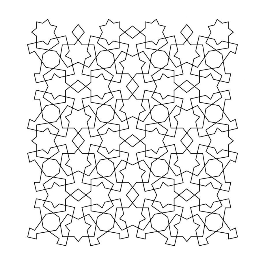 tessellation coloring pages printable