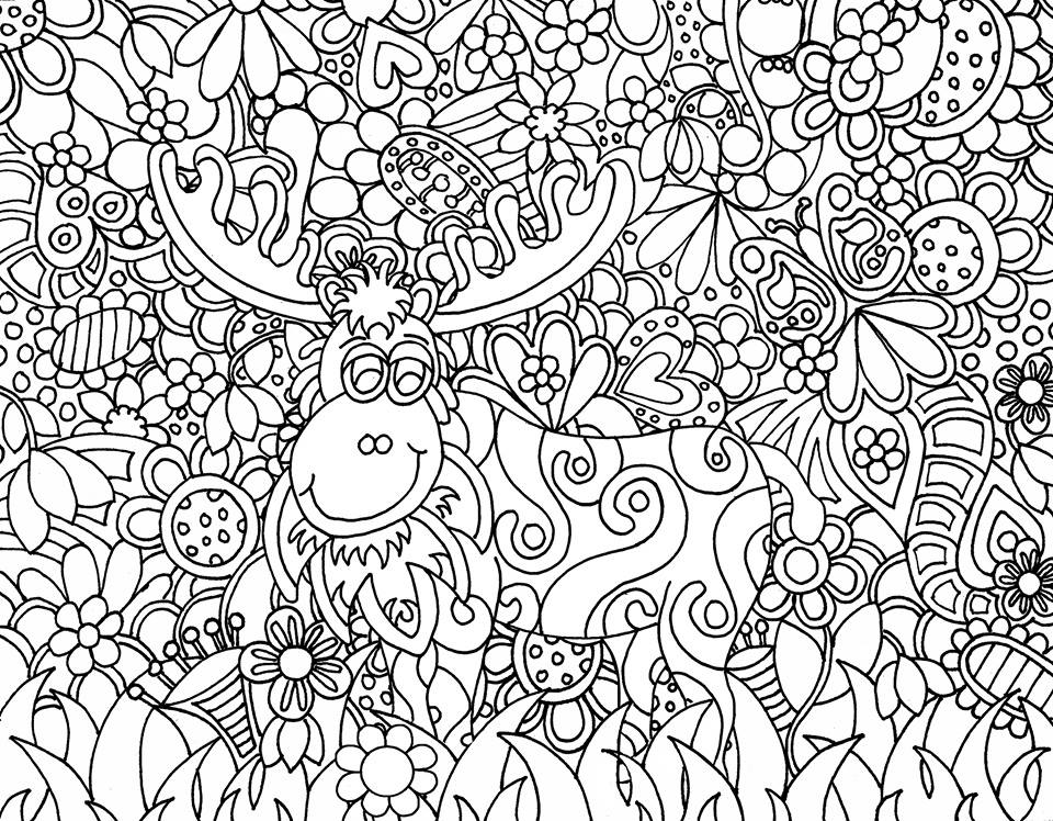 - Coloring Pages Printable Doodles Kids - Coloring Home