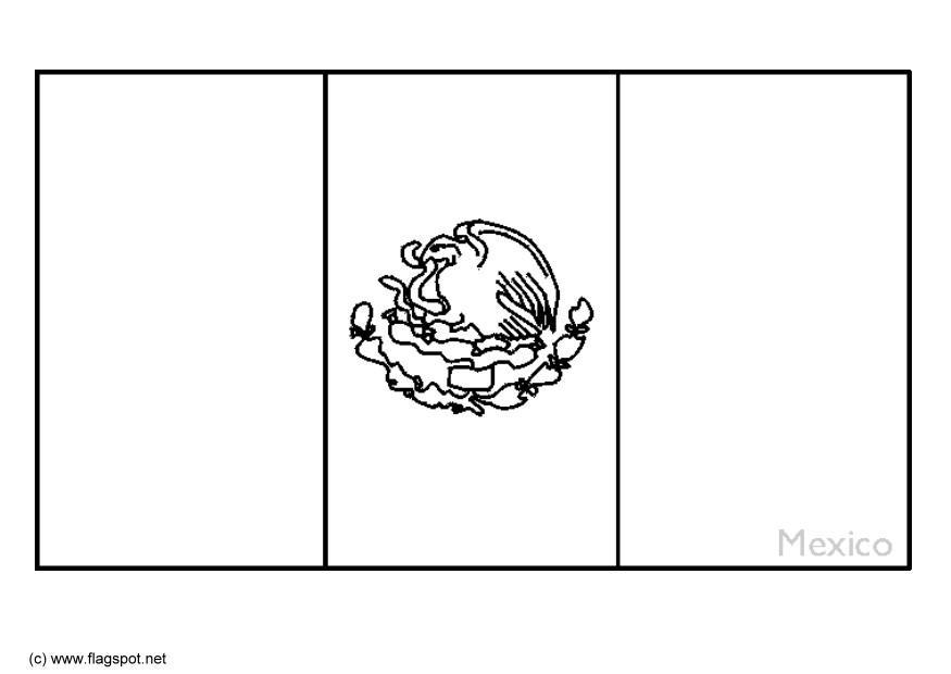 Mexican Coloring Pages To Print Coloring Home Zambia Flag Coloring Page