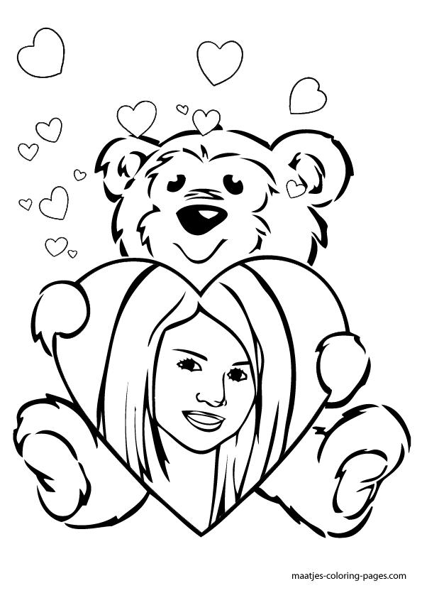 100 ideas Selena Gomez Coloring Pages on gerardduchemanncom
