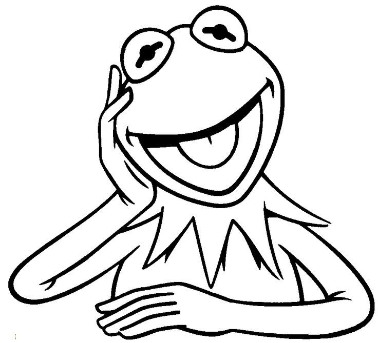 free kermit the frog coloring pages   Kermit The Frog Coloring Page - Coloring Home