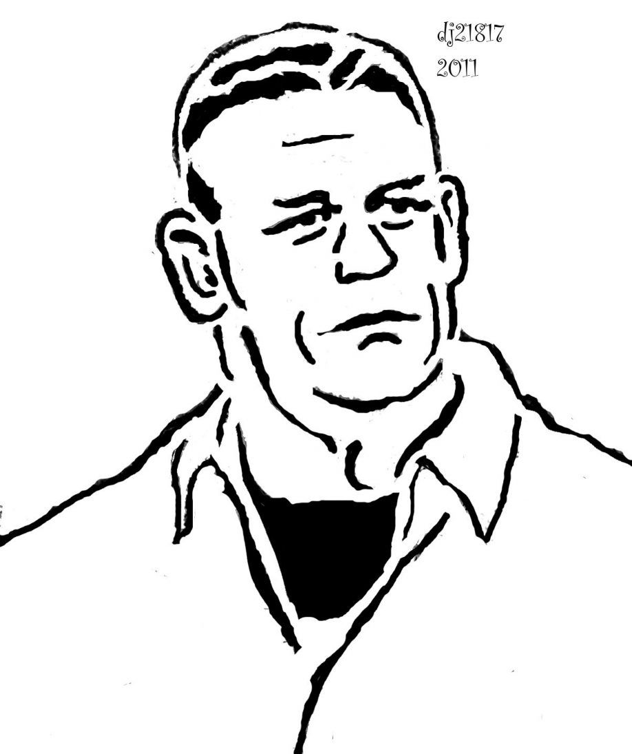 printable john cena coloring pages - photo#36