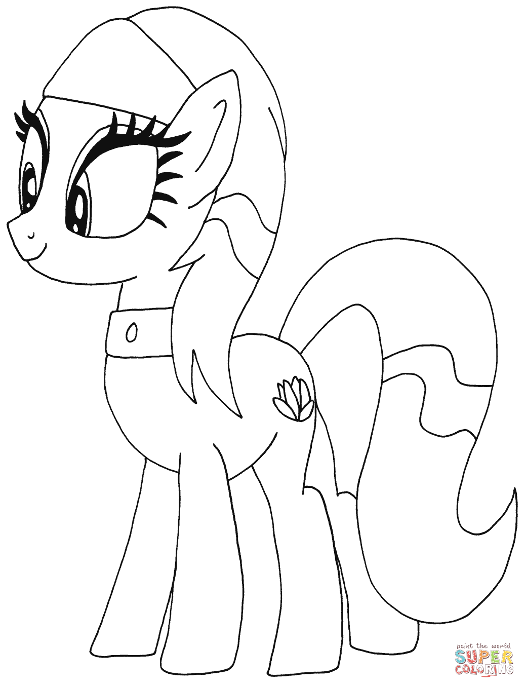 My Little Ponies Coloring Page Coloring Home