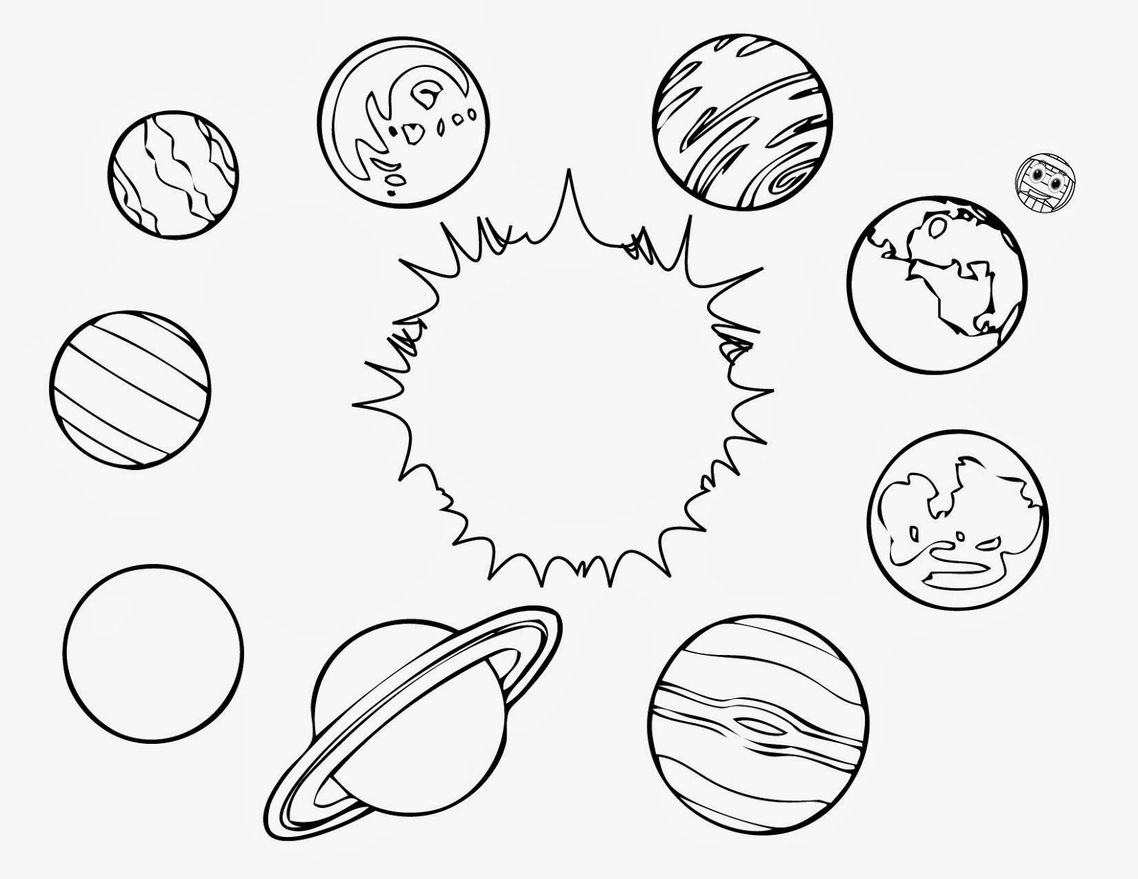 space coloring pages to print coloring home