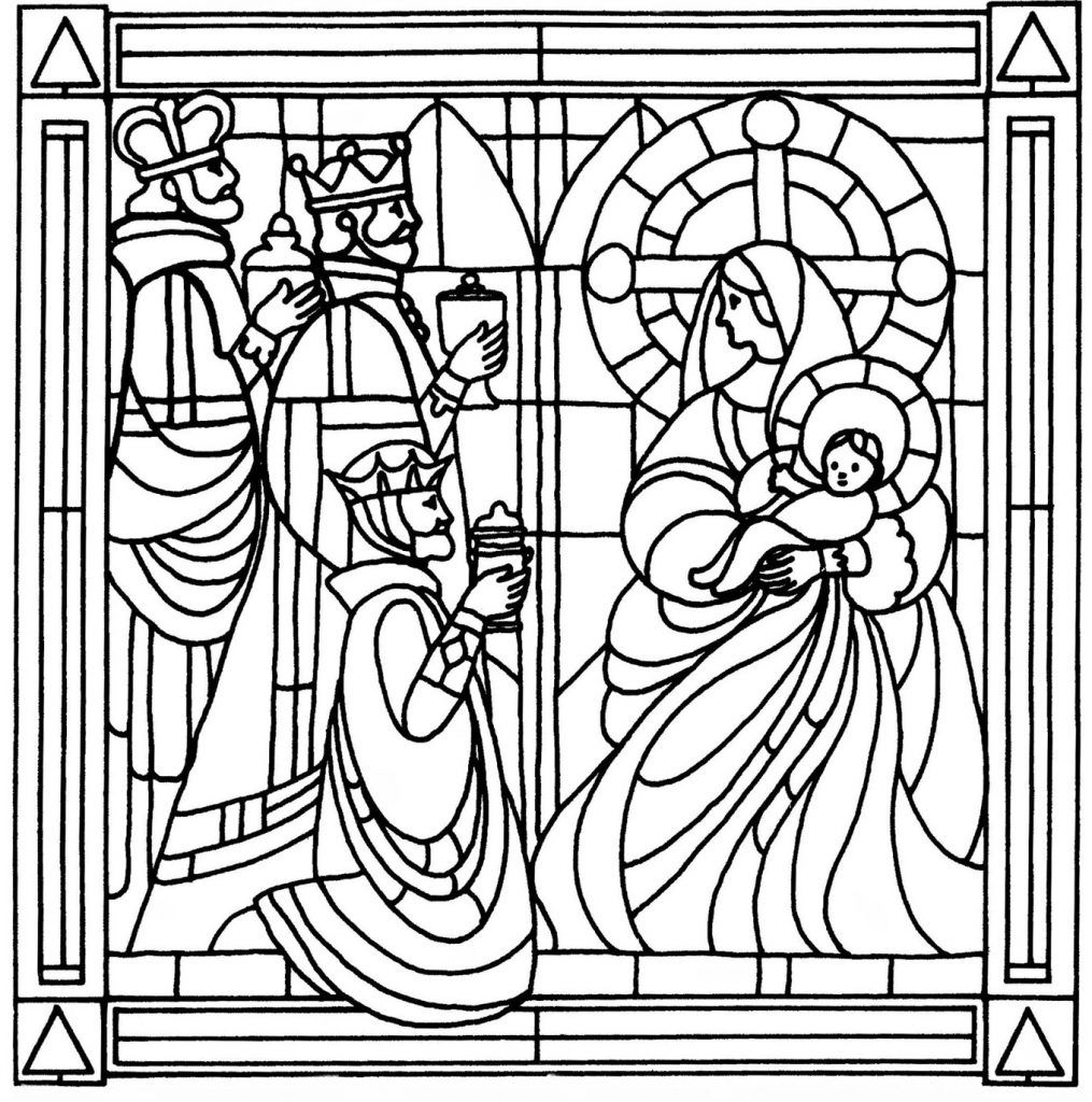 Church window coloring pages coloring home for Pages for windows