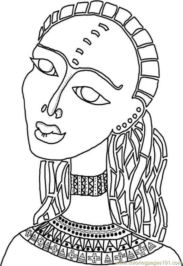 african american coloring book pages - photo#8