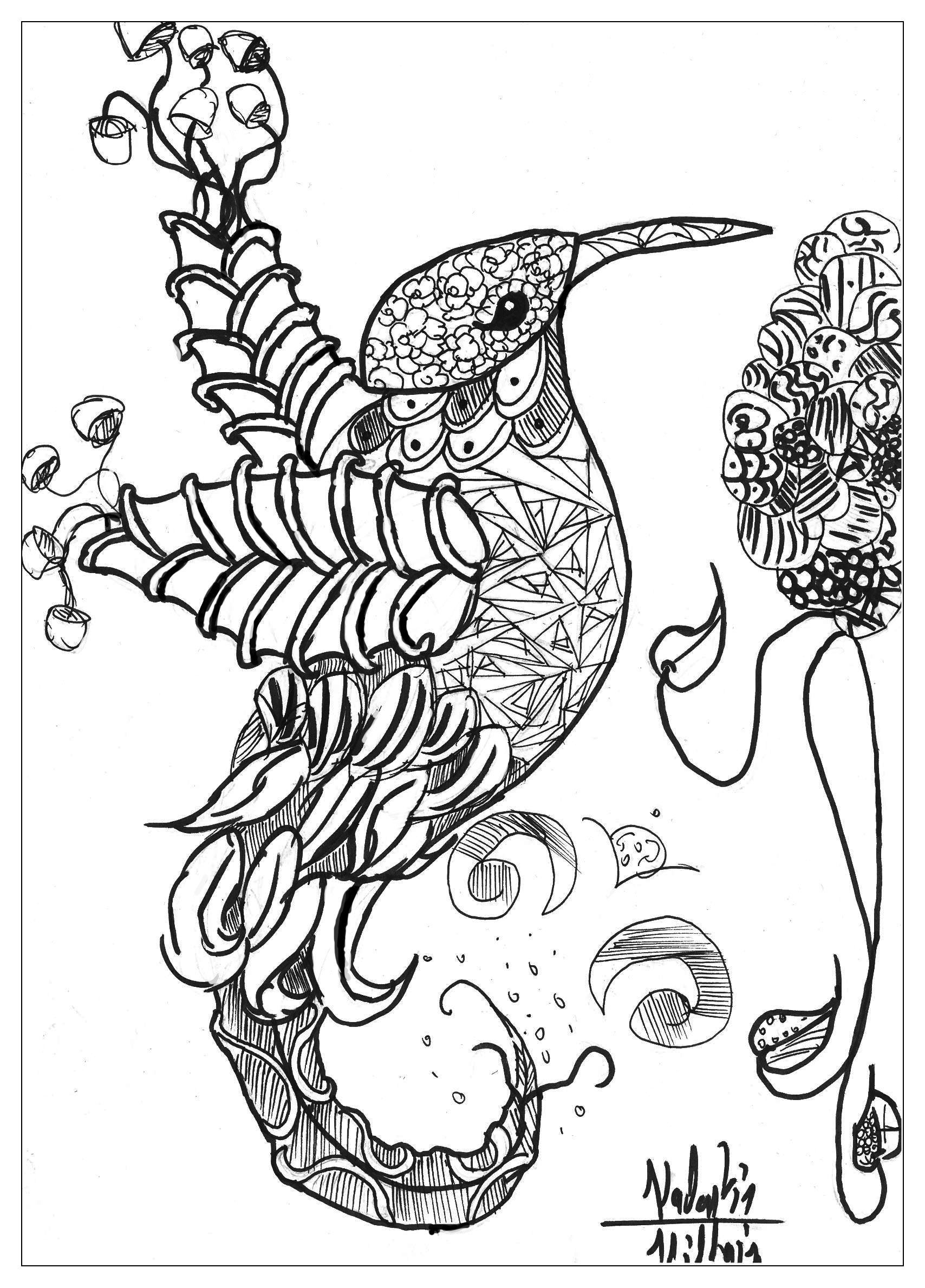 Detailed Animal Coloring Pages For Adults Coloring Home Coloring Pages For Seniors