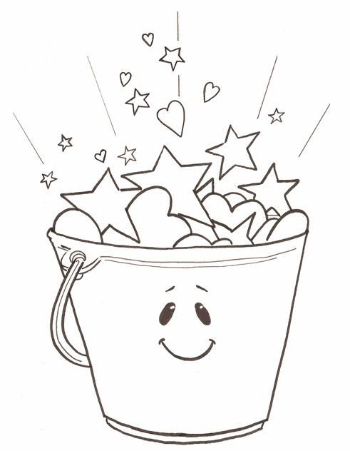 Bucket Filler Coloring Page Coloring Home Filler Coloring Page