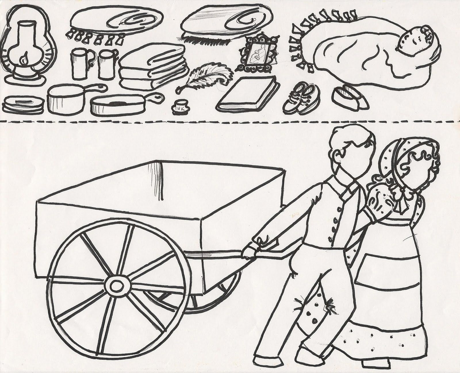 coloring pages pioneers coloring home