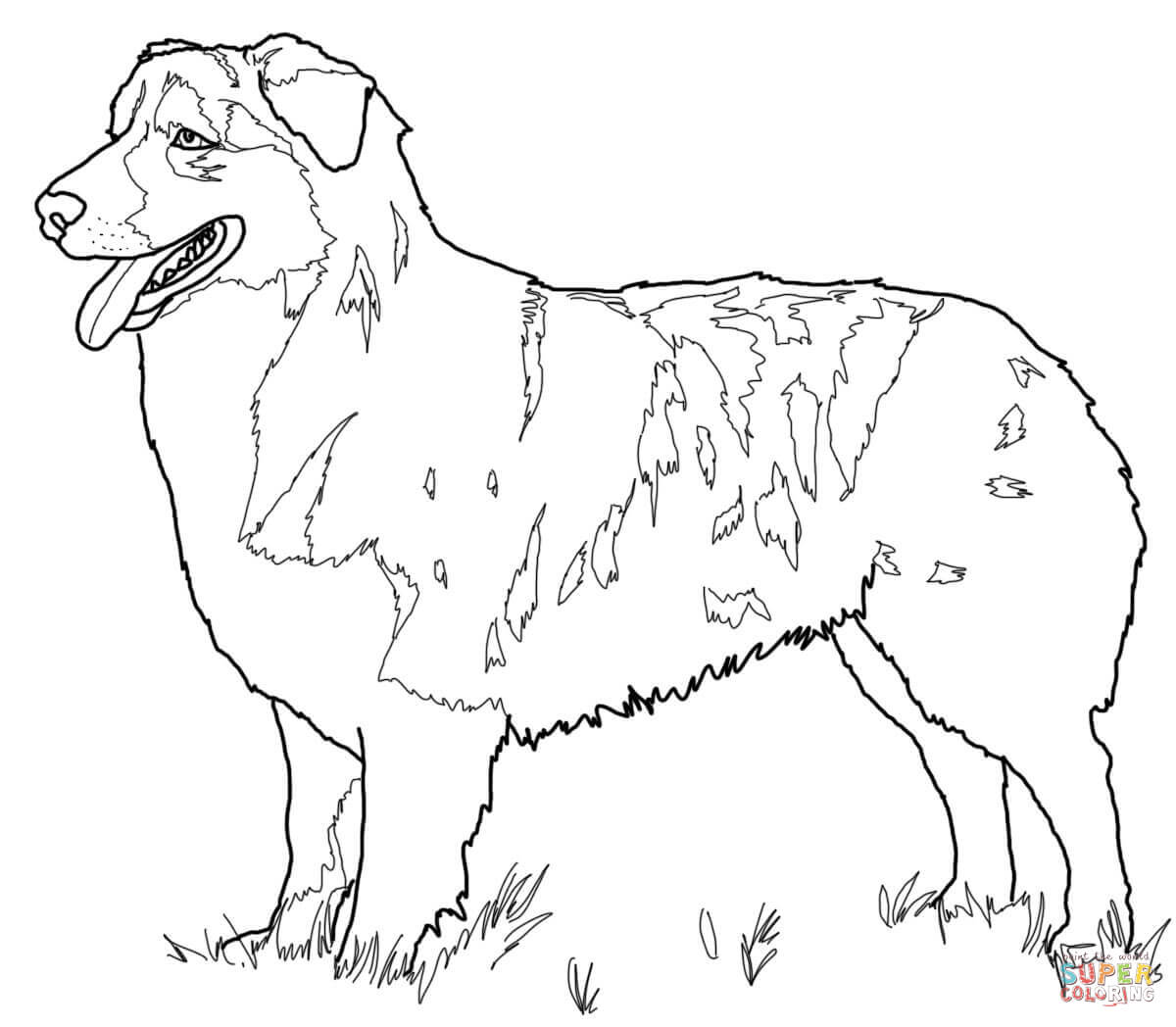 german shepherd puppy coloring pages coloring home