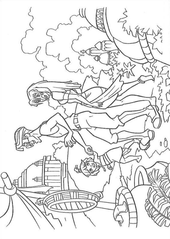 coloring pages of a sunken ship coloring home