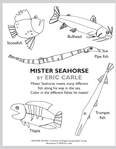 eric carle printable coloring pages - photo#26