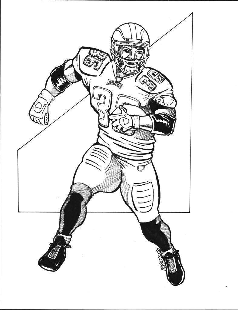 11 Pics Of Giants Football Coloring Pages