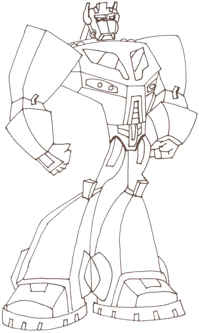 Coloring Pages Transformer Coloring Pages Optimus Prime transformers coloring pages optimus prime az prime