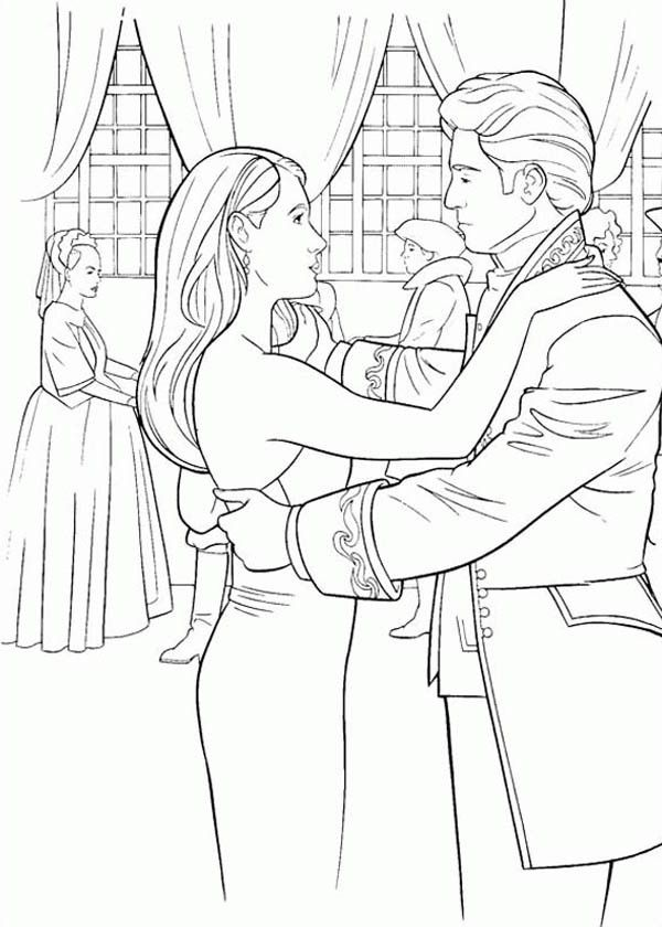 Giselle Fight Dragons In Enchanted Coloring Pages: Giselle Fight ...