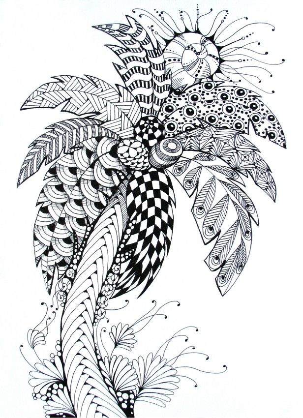 Adult Coloring Pages Summer Coloring