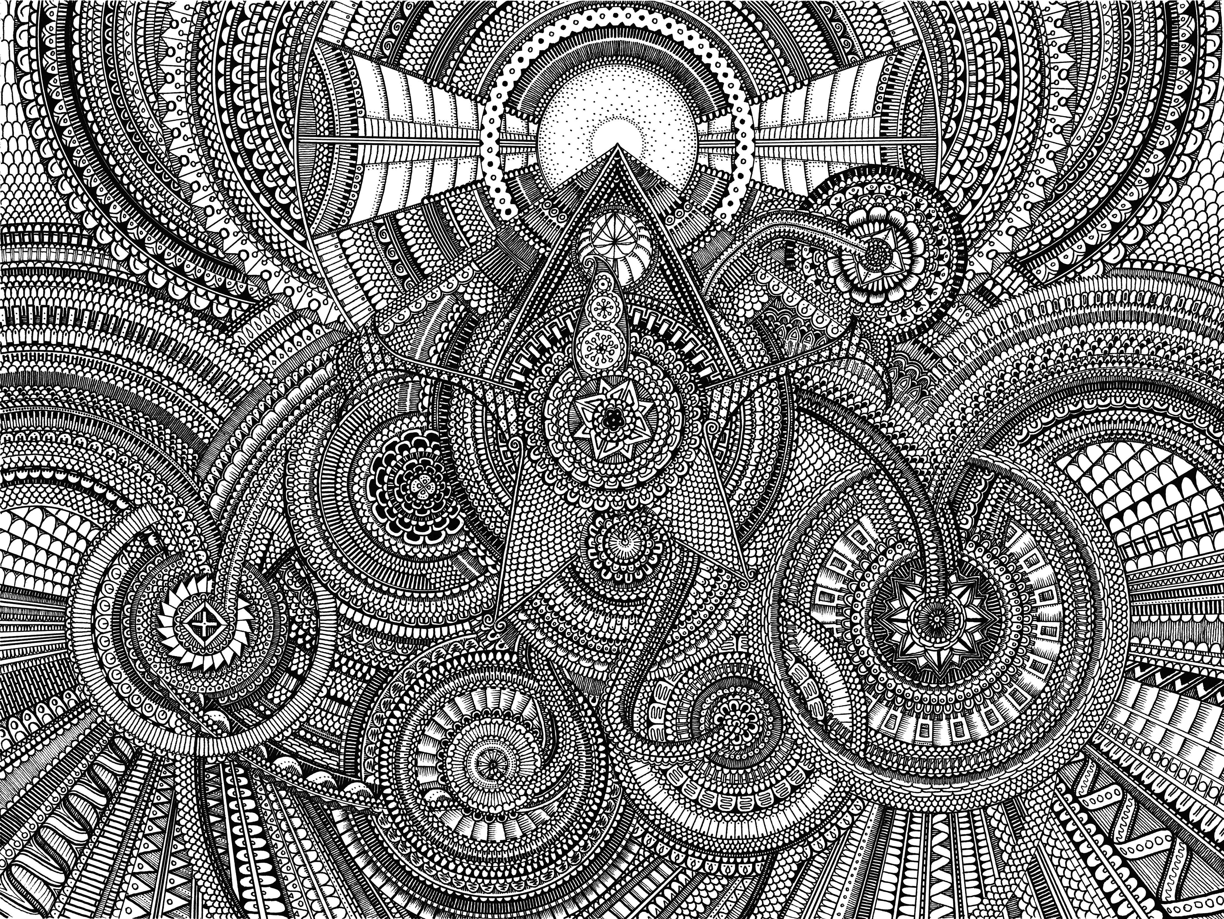 15 pics of expert level mandala coloring pages expert level