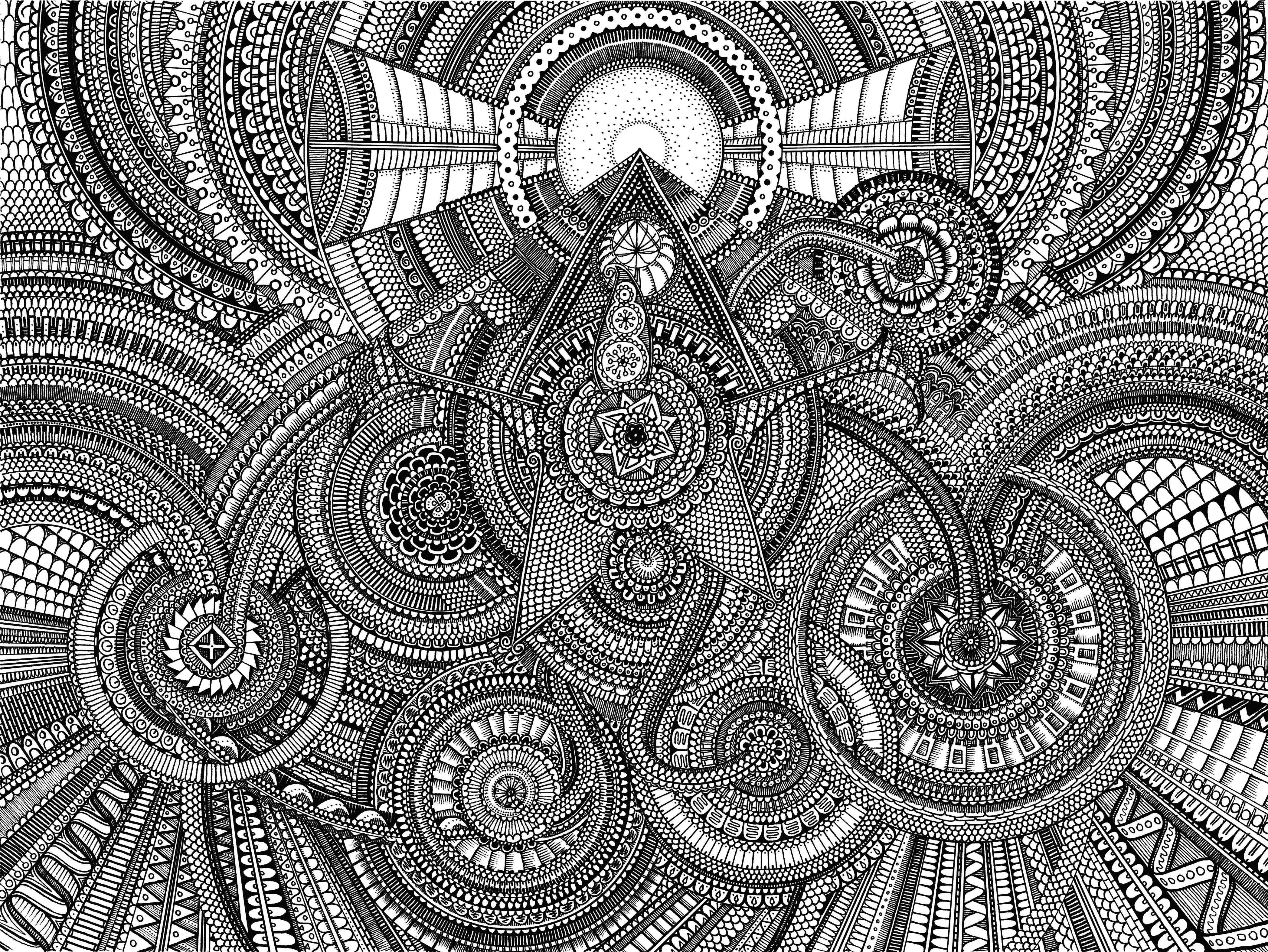 Pics Expert Level Mandala Coloring Pages Expert Level