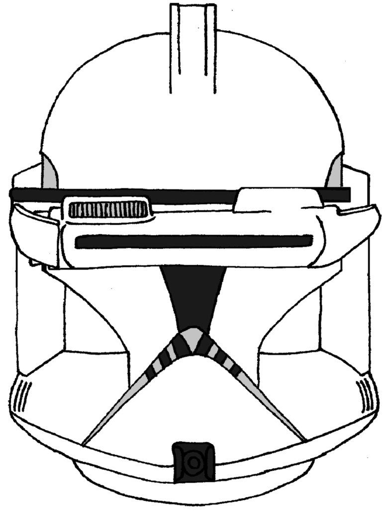 stormtrooper helmet coloring page coloring home Clone Trooper Ringo  Clone Trooper Printable Coloring Pages
