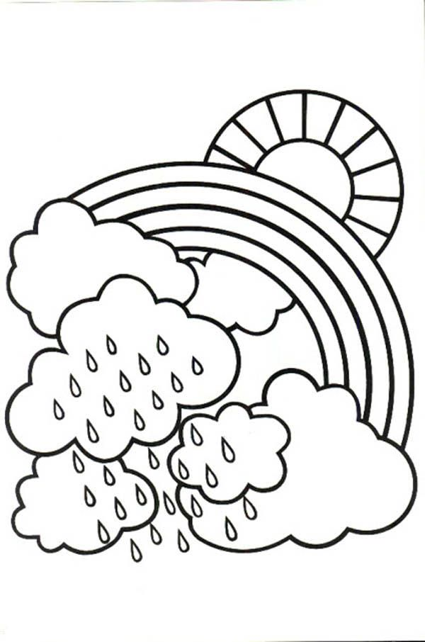 Coloring Pages Rainy Day - AZ Coloring Pages
