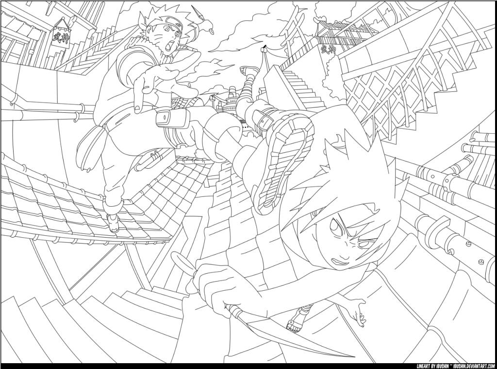 naruto shippuden coloring book coloring pages for kids and for